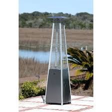 propane heaters patio patio ideas garden treasures 47000 btu mocha steel floorstanding