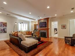Traditional Living Laminate Flooring Traditional Living Room With Crown Molding U0026 Hardwood Floors In