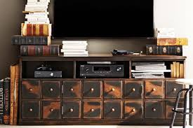 5 cool industrial media consoles for your living room