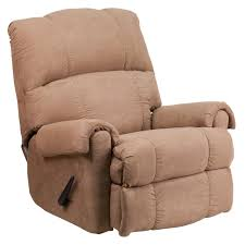 Lane Recliners Flash Furniture Contemporary Victory Lane Taupe Fabric Rocker