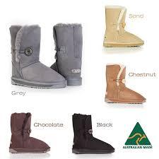 s genuine ugg boots australian made button ugg boots genuine sheepskin