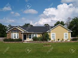 One Story by One Story Residential Home With Vinyl Siding And Brick Or Stone
