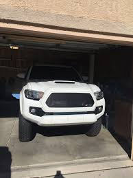 toyota tacoma blacked out black mesh 2016 tacoma grill 2016 toyota tacoma grills