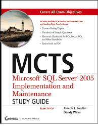 sybex mcts microsoft sql server 2005 implementation and