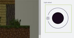 how to adjust lighting effects in paint 3d