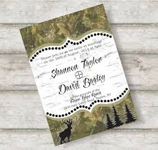 camouflage wedding invitations camo wedding invitations template best template collection