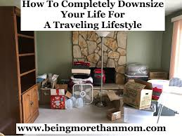 how to completely downsize your life for a traveling lifestyle