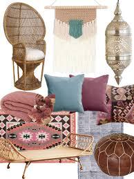 create the look artful bohemian living room shopping guide