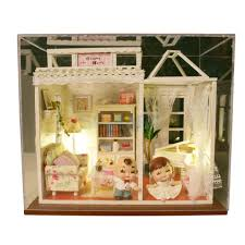 Dolls House Furniture Diy Online Buy Wholesale Diy Wood Dollhouse Miniature From China Diy