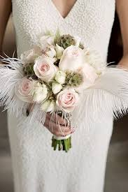 theme wedding bouquets 12 unique wedding bouquet ideas with feathers page 2 of 2