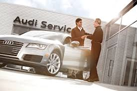 audi dealership audi service