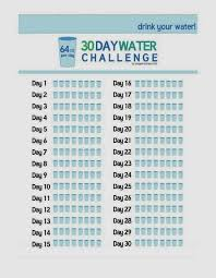 Water Challenge Diary Of A 30 Day Water Challenge Again