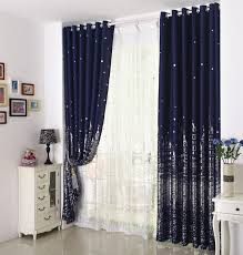 Blackout Navy Curtains 2018 Sale Eco Friendly Printed Curtains For Children