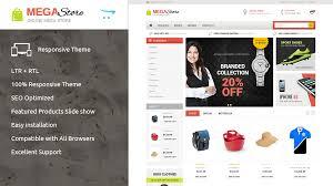 mega store opencart responsive theme themes u0026 templates