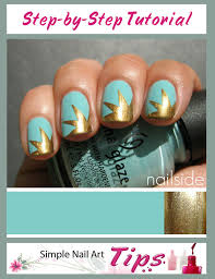 gold explosion nail art tutorial simple nail art tips