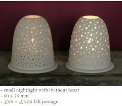 pictures of night lights wendy jung ceramics porcelain pierced nightlights pierced tea