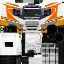 volvo heavy truck skins heavy truck simulator volvo fh16 750 grafith