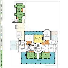 grand manor 9286 southern colonial home plan at design basics