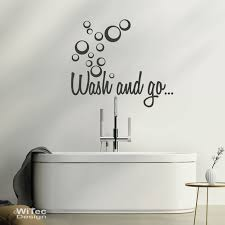 wandtattoo badezimmer wash and go wandtattoo badezimmer