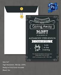 Invitation Card For Reunion Party Farewell Party Invitation Template 25 Free Psd Format Download