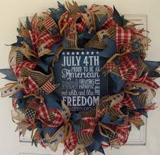 4th of july home decor door wreath 4th of july wreath chalkboard patriotic wreath