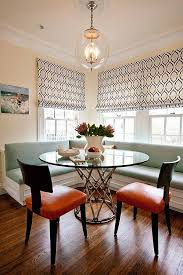Banquette Dining Room Furniture Reasons For Choosing Banquette Instead Of Chairs For Dining Rooms