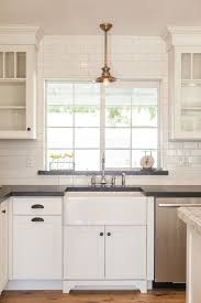 kitchen sink with backsplash kitchen simple cool farmhouse kitchen sink cabinet vintage