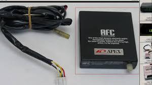 apexi afc air fuel converter a f controller youtube