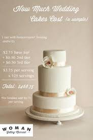 wedding cake price how much do wedding cakes cost woman getting married