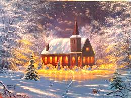 four lights beautiful xmas white paintings dreams new church attractions