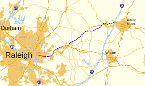 North Carolina State Map by Interstate 87 North Carolina Wikipedia
