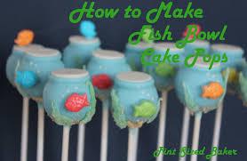 goldfish bowl cake pops pint sized baker