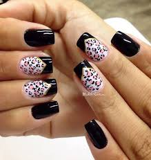 best 10 pink leopard nails ideas on pinterest leopard nail