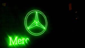 logo mercedes lasere conexiuni proiectie logo mercedes youtube