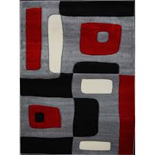 Geometric Area Rug by Home Dynamix Sumatra Black 31 5 In X 55 1 In Area Rug 3 9376d