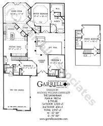 style home plans with courtyard house plan house plans by garrell associates inc