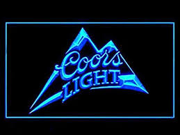 coors light sign amazon amazon com coors light beer pub bar led light sign home kitchen