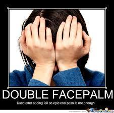 Double Facepalm Meme - double facepalm by ibk10 meme center