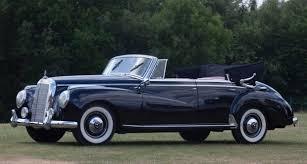 mercedes adenauer 1954 mercedes 300 adenauer cabriolet driver market