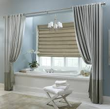 modern bathroom window curtains ideas make different arrangements