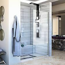 DreamLine Linea Single Panel Shower Screen 30 inch W x 72 inch H