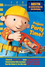 penny u0027s parties bob builder contruction party