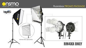 Studio System Fluorescent Studio System Package D 2 Sets Kit