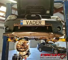 lexus repair orlando circuit motorsports flat out subaru wrx clutch install in