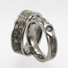 pet memorial jewelry topaz engagement ring with titanium wedding band pet memorial