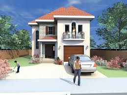 Three Story Building Plan 2 Storey House Design Philippines Architecture Simple Two With
