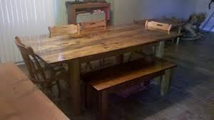 tables made out of pallets kitchen table made from pallets poplar dining table made from