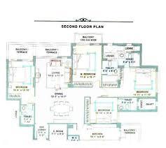 Trinity Homes Floor Plans by 2 Floor Plan 4bhk Second Floor Jpg