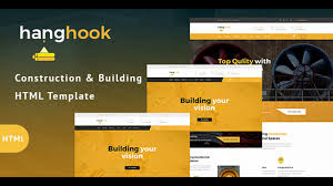 hanghook construction u0026 building html template themeforest