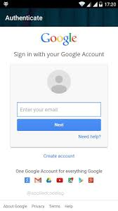 map login login by account integration for xamarin android and